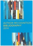 2014 Author Recognition Bibliography
