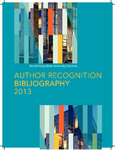 2013 Author Recognition Bibliography