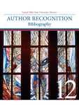 2012 Author Recognition Bibliography