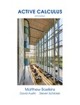 Active Calculus by Matthew Boelkins, David Austin, and Steven Schlicker