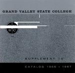 GVSC Supplement to Undergraduate and Graduate Catalog, 1966-1967