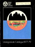 GVSC Undergraduate Bulletin, 1977-1979