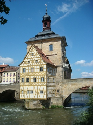 Old City Hall of Bamberg, Germany