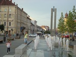 Downtown of Cluj, Romania