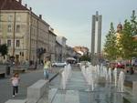 Downtown of Cluj, Romania