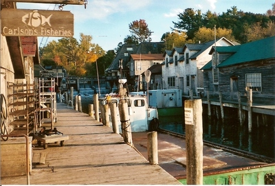 Harbor in Leelanau, Michigan