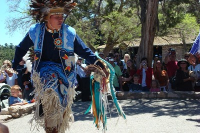 Presentation of Navajo Tradition at the South Rim of Grand Canyon