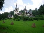 Castle Peles in Sinaia, Romania