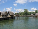 Unteruhldingen at the Lake of Konstanz, Germany