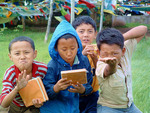 Tibetan boys living in exile in India (dissertation research by Randall Horton, winner of the Triandis Award in 2008)