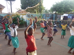 Girl's Dancing Class in Kampala, Uganda