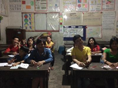 Teaching English at a Local School in Siem Reap