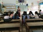Teaching English at a Local School in Siem Reap by Viviana Geana
