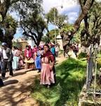 Cementerio de Quetzaltenango in Xela, Guatamala: Funeral procession